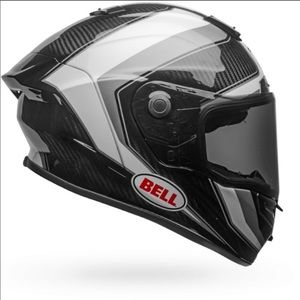 Bell Race Star Flex Helmet Black and White